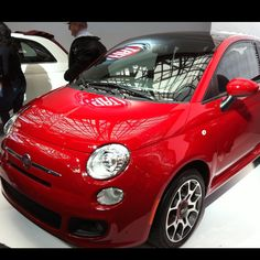 Fiat 500. Don't you just feel happy looking at it? :)