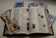 Bible games. Could be used in children church or youth group.