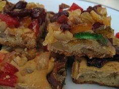 'I'm going to give up my secret recipe for fruitcake cookies. First off, I use a basic spiced pumpkin bread recipe for the batter. Bread Recipes, Cookie Recipes, Dessert Recipes, Desserts, Pumpkin Bread, Pumpkin Spice, Spiced Pumpkin, Fruitcake Cookies, Fruit Cookies