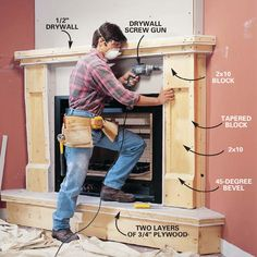 Unbelievable Tips: Corner Fireplace With Tv Above fireplace diy decoration.Fireplace With Tv Cutout fireplace with tv above shelves. Corner Gas Fireplace, Vented Gas Fireplace, Home Fireplace, Faux Fireplace, Fireplace Remodel, Electric Fireplace, Fireplace Surrounds, Fireplace Design, Fireplace Ideas