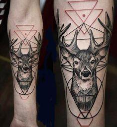 Abstract Animal Tattoo by Timur Lysenko - http://worldtattoosgallery.com/abstract-animal-tattoo-by-timur-lysenko-7/