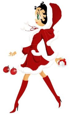 """betty boop """" christmas"""" Picture"""