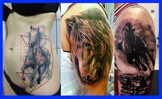 Los, Mejores, Tatuajes, de, Caballos, para, Mujeres, Hombres, Mejores Tatuajes…