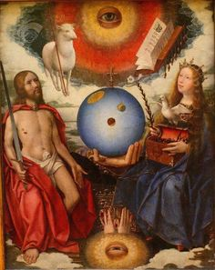 Jan Provost, Allegory of Creation, 1465