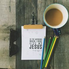 Give Me Jesus & Coffee Instant Download Printable by echoesofmercy, $12.00