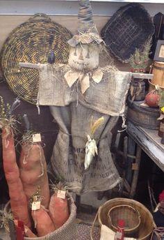 Scarecrow created and handmade by Seasonal Prims