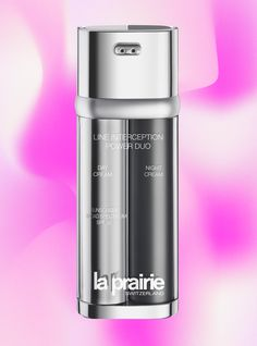 This Skin Cream Really Does Everything — But It Will Cost You - La Prairie Line Interception Power Duo #refinery29