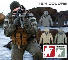 Special Ops Tactical Jacket FBI SWAT COPS SECURITY Forces Hoodie Uniform #FleeceJacket