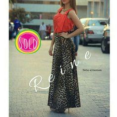 Sold Out !  +962 798 070 931 ☎+962 6 585 6272  #FallFashion #ReineWorld #BeReine #Reine #LoveReine #InstaReine #InstaFashion #Fashion #Fashionista #FashionForAll #LoveFashion #FashionSymphony #Amman #BeAmman #Jordan #LoveJordan #ReineWonderland #FashionAddict #SkirtAddict #GoLocalJO #MyReine #ReineIt  #LeopardSkirt #Leopard #Skirt #MaxiSkirt #SkirtAddict #FashionBlog #LeopardFashion