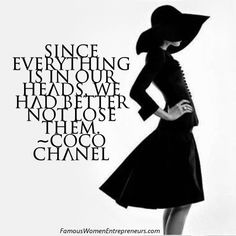 LIKE us on FB: https://www.facebook.com/famouswomenentrepreneurs 10 Quotes from Coco Chanel ~ Famous Women Entrepreneurs' Wisdom | Famous Women Entrepreneurs