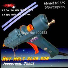 47.75$  Watch now - http://ali79f.worldwells.pw/go.php?t=672731119 - 200W 220V Suitable diameter 15mm Glue stick the hot melt glue gun, GB plug,  free shipping, 1pcs/lot 47.75$