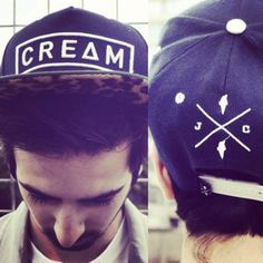 CREAM snapback (Limited) now available to buy www.jellyandcream.com