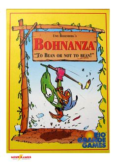 Ever imagined you were a bean farmer? If you haven't, you will soon after playing Bohnanza. This great card game is all about planting, trading, and selling beans. Red beans and green beans, black-eyed beans and coffee beans; but where do you plant them all? In this card game, smart sowing lets you reap big rewards. Plant the beans you do want, and trade the beans you don't want to the other players. But be careful, your junk might just be someone else's treasure, as they sell off a huge…