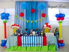 Candy Bar Los Pitufos | CatchMyParty.com