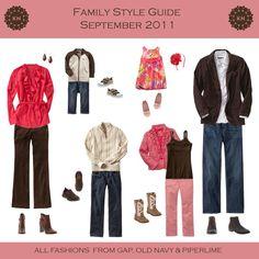 September Family Style Guide