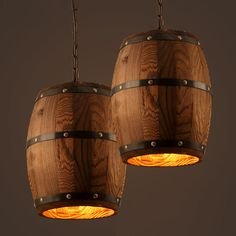 Find More Pendant Lights Information about American country loft wood Wine barrel hanging Fixture ceiling pendant lamp E27 light for bar cafe living dining room restaurant,High Quality e27 10w,China e27 light fitting Suppliers, Cheap e27 light holder from Newatmosphere Lighting Co., Ltd. on Aliexpress.com