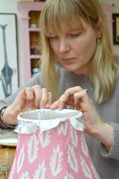 Lampshade making course with Cocoon Home - Bespoke lampshades