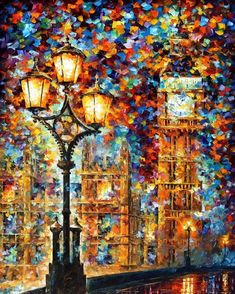 PRODUCT DESCRIPTION    Title: London's Dream— Cityscape PALETTE KNIFE Oil Painting On Canvas    Size: 50cm x 60cm (20″x24″)    Condition:Excellent Brand New    Medium:100% hand paintedoil painting on Canvas – Recreation of an older painting    Signature: Signed by the Artist    Frame: Gallery Wraped and Ready to Hang        About this oil painting:    LONDON'S DREAMS    MIND TRIP    Can a city dream? Is it actually a living being with its own consciousness, feelings and desires? And if…