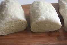Knedlíky z rýžové mouky