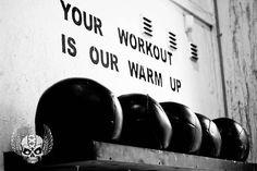 Resultado de imagem para your workout is my warm up