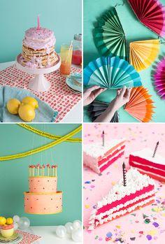 fun birthday party diys