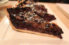 Blueberry Sour Cream Pie https://www.rakisheats.com/