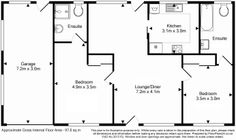 Classic Layout - 2 Bedroom Retirement Home - 97 sq.m - FloorPlans24 delivers a solution that works for YOU – Talk to us…
