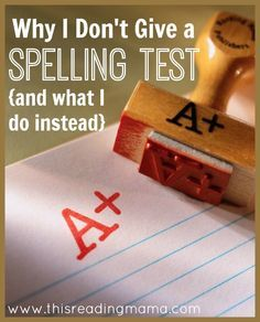 Listed are 3 reasons I don& give a Friday spelling test in my home and 8 things I do instead to ensure my kids can spell well. Spelling Games, Grade Spelling, Spelling Activities, Spelling Words, Spelling Ideas, Spelling Help, Spelling Patterns, Word Study, Word Work