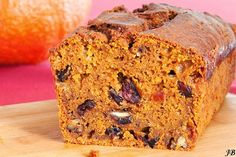 Carolines blog: Pompoencake met gedroogde cranberries, witte chocolade en pecannoten
