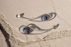 SOPHIE BUHAI - MOON EARRINGS - SS17 https://www.sophiebuhai.com/collections/jewelry/products/ss17-lapis-moon-earrings
