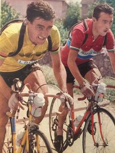1955 > Louison Bobet and Charly Gaul