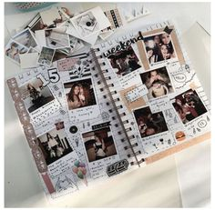 Album Journal, Bullet Journal Ideas Pages, Journal Diary, Photo Journal, Memory Journal, Cute Birthday Gift, Birthday Gifts For Best Friend, Best Friend Presents, Gifts For Best Friends