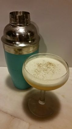 The Sweet Amigo: A balanced blend of tequila, apricot liqueur, honey lime juice and egg white