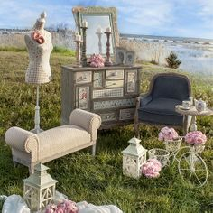 #Romantic #country room. No one is too old for fairy tales!