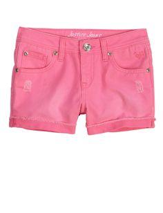 Colored Denim Shorts | Bottoms | New Arrivals | Shop Justice
