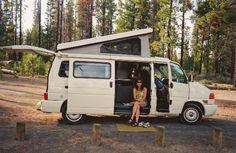 Major want: Eurovan. Vw Eurovan Camper, T4 Camper, Vw Vanagon, Camper Life, Transporter T3, Road Trip Packing List, Vw Camping, Beach Rides, Road Trip With Kids