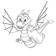 Mike The Knight Brave Coloring Page
