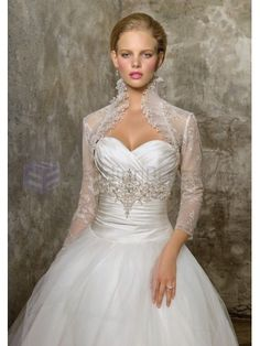 Ball Gown Beaded Lace and Pleated Tulle Corset Bodice Sweetheart Neckline Chapel Train Wedding Dresses