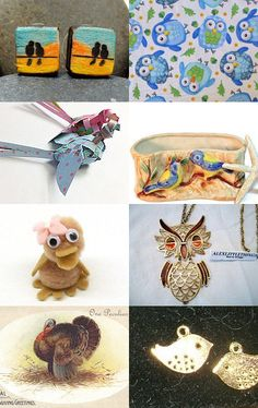 Bird, Bird, Bird ♫ Bird Is The Word ♫ by deb on Etsy--Pinned with TreasuryPin.com