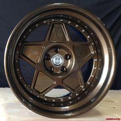 So Vintage - HRE Wheels 505 in Full Bronze Armor - http://www.vividracing.com/blog/wp-content/gallery/hre_wheels/ferrari_308_505_2.jpg