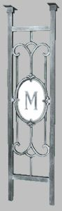 Monogram Post - add the desired initial to the end of the post's model number New Mailbox, Mailbox Post, Home Mailboxes, Commercial Mailboxes, Mailbox Monogram, S Models, Numbers, Initials, Keto