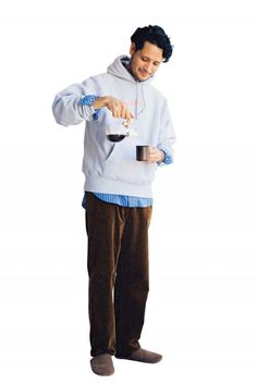 大人が使える冬の11着! オレとアイツの着回しウインターデイズ#3 | FASHION | UOMO | WEBUOMO American Casual, American Fashion, People Cutout, People Png, Poses References, Men Looks, Menswear, Mens Fashion, Entourage