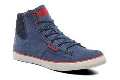 Bijzondere Sneakers JJ Cardiff Denim High van Jack & Jones (Blauw) Sneakers van het merk Jack & Jones voor Heren . Uitgevoerd in Blauw gemaakt van .