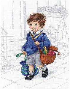 School - Cross Stitch Patterns & Kits - 123Stitch.com