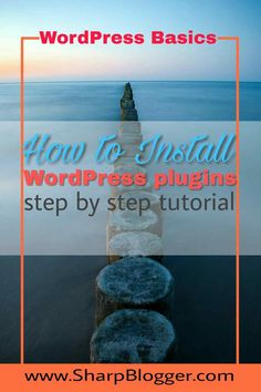 After installing WordPress, the first thing you need to know is how to install plugins. In this step by step tutorial, I'll show you how to do that.