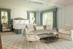 Creative Tonic loves this master bedroom