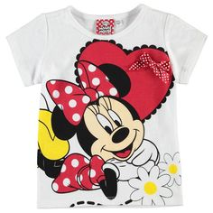Character | Character Short Sleeve T Shirt Infant Girls  | Infant Girls T Shirts