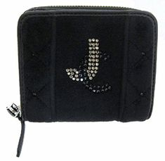Juicy Couture Fabric SFP YSRU24121 WalletBlackOne Size -- Check this awesome product by going to the link at the image.