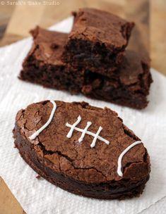 Football Brownies –