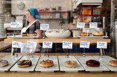 1. Blue Star Donuts > 2. Pine State Biscuits > 3 Pok Pok > 4. Lardo > 5. Voodoo Doughnut.